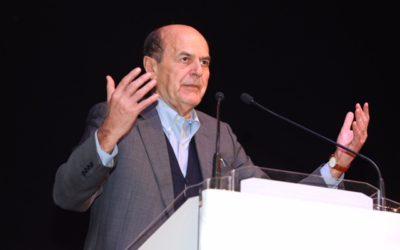 Pier Luigi Bersani a Latina per Liberi e Uguali
