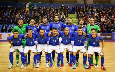 La Nazionale di Futsal in ritiro a Genzano
