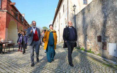 Il presidente della Regione Lazio fa tappa a Latina