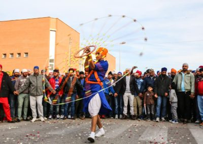LATINA - CRONACA - FESTA SIKH INDIANI -  FOTO: PAOLA LIBRALATO