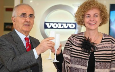 La Icar presenta il nuovo salone Volvo a Latina