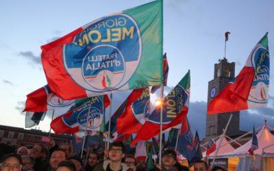 Chiusura campagna elettorale Fratelli d'Italia a Latina