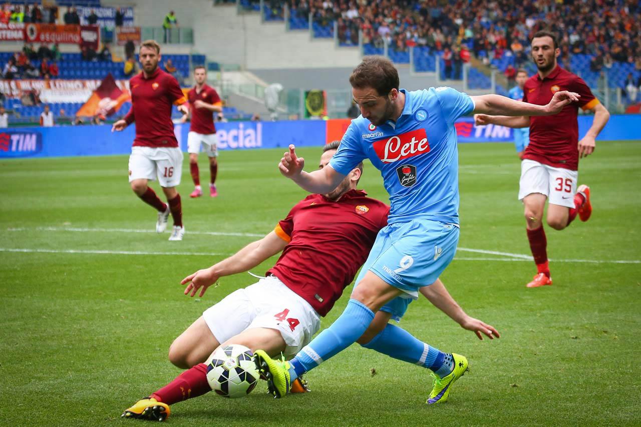 CAMPIONATO ITALIANO DI SERIE A 2014/2015 - ROMA VS NAPOLI