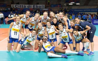 Eboli, Volleyball Nations League femminile