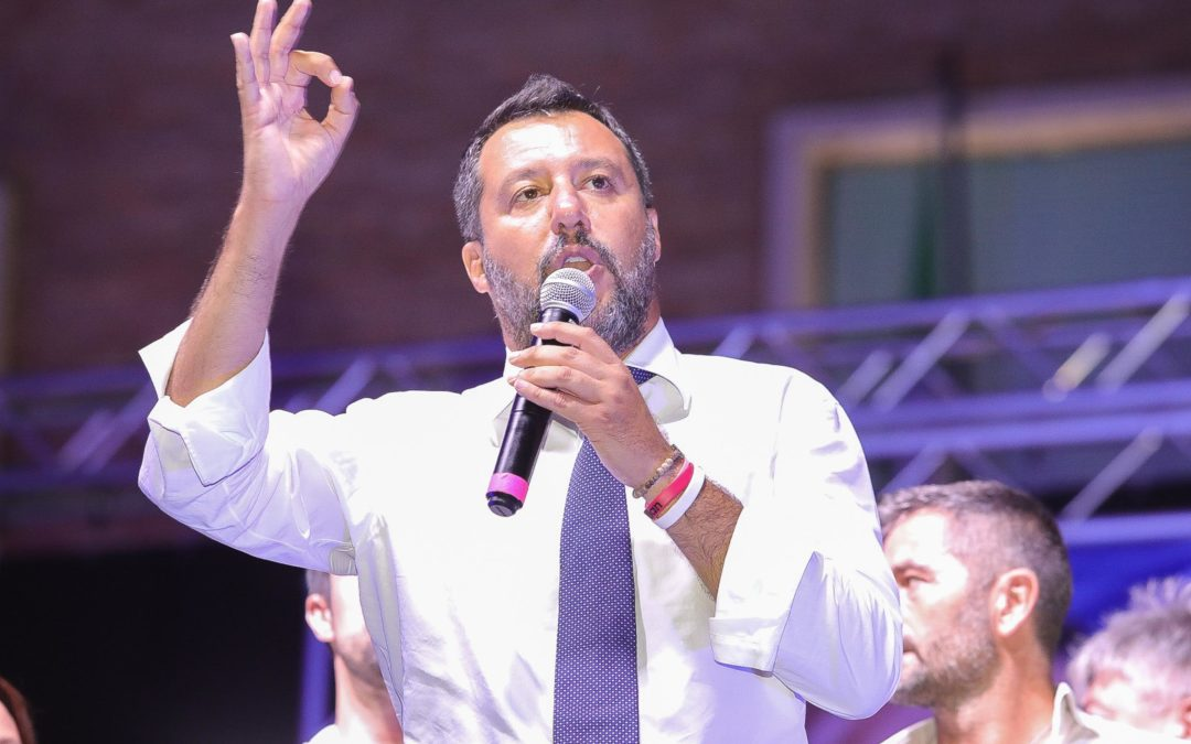Salvini a Sabaudia